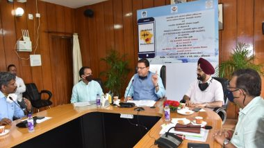 'Uttarakhand Bhookamp Alert' App Launched by CM Pushkar Singh Dhami, State Becomes First in India To Launch an Earthquake Alert App