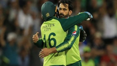 WI vs PAK, 2nd T20I: Mohammad Hafeez, Babar Azam Shine For Visitors in Thrilling Seven-Run Win