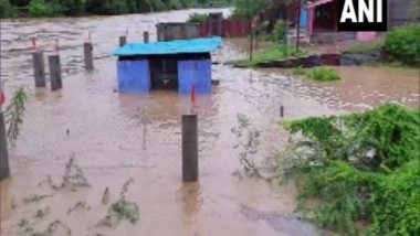 India News | Flood in Karauli District of Rajasthan Due to Heavy Rainfall