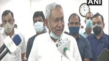India News | Pegasus Row: Bihar CM Nitish Kumar Demands Probe, JD(U) First BJP Ally to Do So