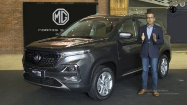 MG Motor Launches New Hector Trim With Price Starting at Rs 14.51 Lakh