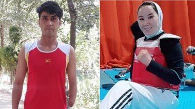 Tokyo Paralympics 2020: Afghan Athletes Zakia Khudadadi, Hossain Rasouli Arrive in Tokyo After Harrowing Journey From Kabul to Paris