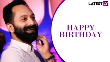 Fahadh Faasil Birthday Special: From Super Deluxe to Malik, 7 Best Films of The Awesome Actor Ranked as per IMDb (LatestLY Exclusive)