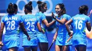 India vs Australia, Women's Hockey, Tokyo Olympics 2020 Live Streaming Online: Know TV Channel and Telecast Details for IND vs AUS Quarterfinal Match