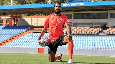 Sandesh Jhingan Signs for HNK Sibenik, Becomes First Indian To Play in Croatia's Top Tier League