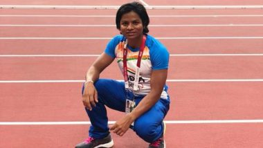 Dutee Chand at Tokyo Olympics 2020, Athletics Live Streaming Online: Know TV Channel & Telecast Details for Women's 200m Round 1-Heat 4 Race Coverage
