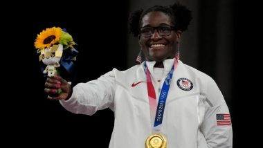 Tamyra Mensah-Stock Wins Gold in Women's 68kg Freestyle Wrestling, Becomes First Black Woman To Do So