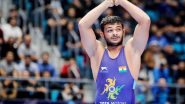 Deepak Punia Blazes His Way Into Semifinals of Men's Freestyle 86kg at Tokyo Olympics 2020