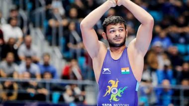 Deepak Punia Qualifies for Men's Freestyle 86kg Quarterfinals With 12–1 Victory Over Ekerekeme Agiomor in First Round at Tokyo Olympics 2020