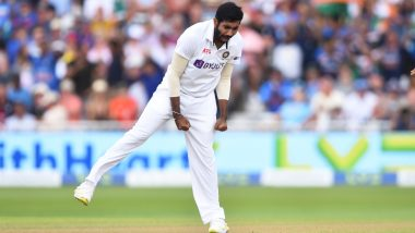 Jasprit Bumrah Has His Name Inscribed on Trent Bridge Honours Board for Five-Wicket Haul During India's 1st Test Against England (Check Post)