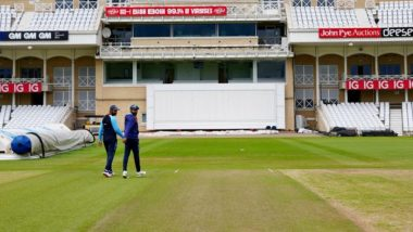 Green Pitch at Trent Bridge? BCCI Shares Picture of Wicket Ahead of India vs England 1st Test 2021, Check Post
