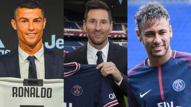 Biggest Transfers In Football History: From Lionel Messi Joining PSG To Juventus Signing Cristiano Ronaldo; A look At Five Most Memorable Transfers