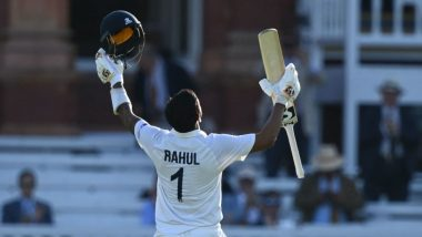 KL Rahul Applauded on Return to the Dressing Room After Scoring Unbeaten Hundred During IND vs ENG 2nd Test 2021 (Watch Video)