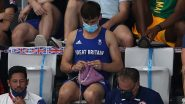 Tom Daley, Tokyo Olympics 2020 Gold Medallist, Seen Stitching While Watching the Women's Diving Final Event (Watch Video)