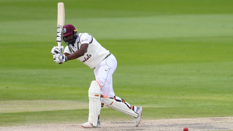 Pakistan vs West Indies 1st Test, Day 3 Live Streaming Online on FanCode: Get PAK vs WI Cricket Match Free TV Channel and Live Telecast Details On PTV Sports | 🏏 LatestLY