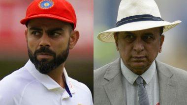 Sunil Gavaskar Opens Up on Virat Kohli's Poor Form During IND vs ENG 2021 Test Series, Says, 'The Foot Is Somewhere Else, the Bat Is Somewhere Else'