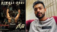 Ghani: Varun Tej's Telugu Sports Drama To Release in Theatres This Diwali 2021; Check Out New Poster!