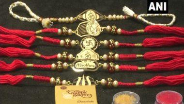 Jewellers in Gujarat's Rajkot Launch Pure Gold, Silver Rakhis Ahead of Raksha Bandhan