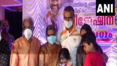 Kerala Govt Announces Rs 2 Crore Reward to Hockey Player PR Sreejesh for 2020 Tokyo Olympics Bronze