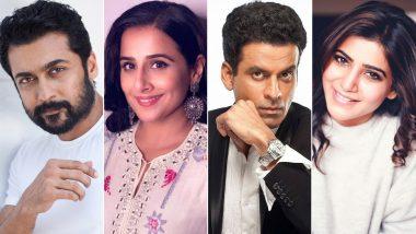 IFFM 2021 Winners: Suriya, Vidya Balan, Manoj Bajpayee, Samantha Akkineni Win Big at Indian Film Festival of Melbourne; Check Out the Full List!