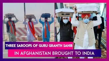 Three Saroops Of Guru Granth Sahib In Afghanistan Brought To India By Evacuated Sikhs, Only Three More Remain