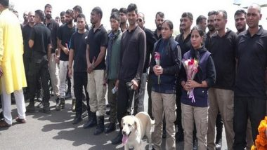 ITBP Sniffer Dogs Maya, Ruby and Bobby, Who Had Been Serving in Afghanistan, Return to India After Taliban Sweep