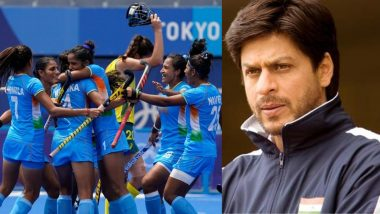 Shah Rukh Khan's Chak De! India Trends on Twitter After the Indian Women's Hockey Team Beats Australia at Tokyo Olympics 2020, Enters the Semis!