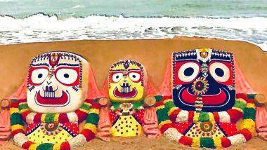 Shree Jagannath Temple Reopens For Devotees After 4 Months; Sudarshan Pattnaik Creates Beautiful 'Jai Jagannath' Sand Art