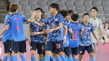 Japan vs Spain, Tokyo Olympics 2020 Live Streaming Online On SonyLIV: TV Channel Broadcasting Men's Football Tournament Semi-final at Summer Games And Free Live Telecast Details