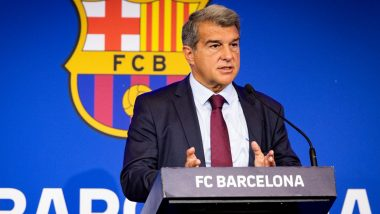Barcelona President Joan Laporta Reveals Club's Debts, Criticizes Josep Bartomeu for His Letter 'Full of Lies'