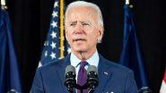 US President Joe Biden Gets Booster Shot of COVID-19 Vaccine (Watch Video)