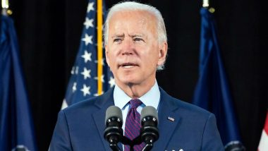 Kabul Airport Blast: US President Joe Biden Pays Respects to 13 US Troops Killed in Suicide Attack in Afghanistan