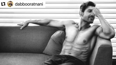 John Abraham Flaunting His Abs on a Couch for Dabboo Ratnani's 2021 Calendar Is a Hot Sight To Behold (View Pic)