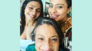 Kajol Shares A Pre-Birthday Lunch Selfie With Mom Tanuja And Sister Tanisha Mukerji (View Pic)