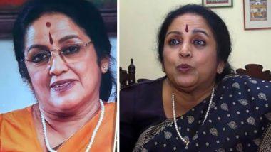 Kalyani Menon Dies at 70; Popular Classical Singer Was Known for Songs Like Ritu Bhedakalpana, Jalashayyayil Among Others