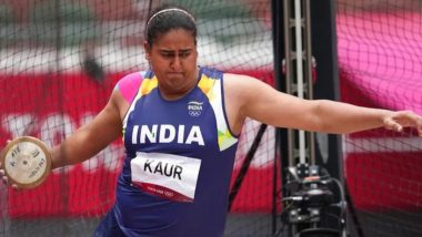 Kamalpreet Kaur Finishes 6th With Best Throw of 63.7m in Women's Discus Throw Final at Tokyo Olympics 2020