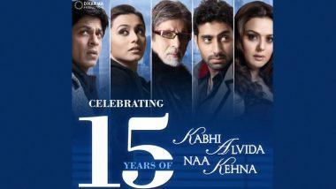 Kabhi Alvida Naa Kehna Clocks 15 Years: Karan Johar Get Nostalgic and Says, 'A Film That Will Always Remain Extremely Special to Me' (View Post)