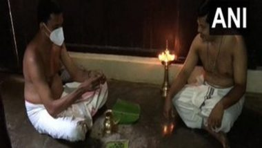 Karkidaka Vavu 2021: Kerala Imposes Restrictions on Rituals to Pay Homage to Ancestors, People Conduct 'Bali' at Home