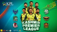 Kashmir Premier League 2021 Schedule, Live Streaming and Telecast, Controversy and All You Need to Know Ahead of KPL T20 Tournament