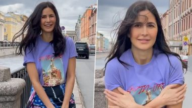 Tiger 3: Katrina Kaif Shares Glimpse of Her Day Out in Russia While Shooting for Salman Khan's Next Film (Watch Video)