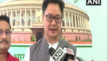 India News | Forces from Outside India Interfering in Assam-Mizoram Issue: Says Kiren Rijiju After BJP MPs Write to PM