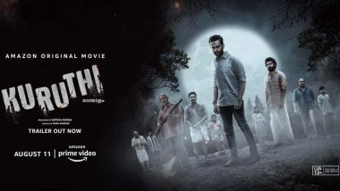 Kuruthi Full Movie in HD Leaked on Torrent Sites & Telegram Channels for Free Download and Watch Online; Prithivraj Sukumaran's Film Leaked Hours After Its Online Release!