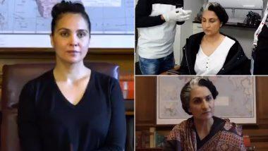 Bell Bottom: Akshay Kumar Shares Lara Dutta's Transformation As Late Indira Gandhi and It'll Give Make You Go Wow! (Watch Video)