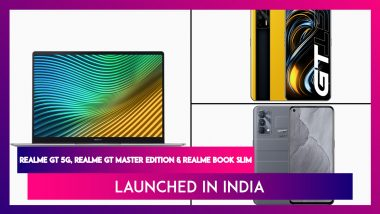 Realme GT Series & Realme Book Slim Launched in India; Check Prices, Features & Specifications