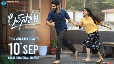 Love Story: Naga Chaitanya and Sai Pallavi's Telugu Film To Hit the Big Screens on September 10!