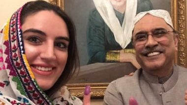 Pakistan: Single Men Should Not Be Allowed in Public Without Being Escorted by Their Sisters, Mothers, Wives or Daughters, Says Asif Ali Zardari's Daughter Bakhtawar Bhutto
