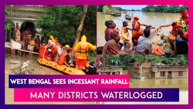West Bengal Sees Incessant Rainfall, Many Districts Waterlogged, See Flooding
