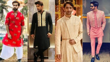 Krishna Janmashtami 2021 Celebrity Style Guide: Take a Cue From Nakuul Mehta, Dheeraj Dhoopar and Others To Get Festive Ready