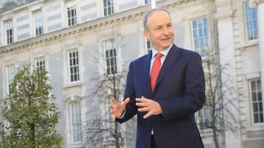 Ireland PM Micheal Martin Says Over 72% Adults Fully Vaccinated Against COVID-19