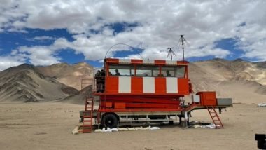 Indian Air Force Builds One of World's Highest Mobile Air Traffic Control Towers in Ladakh